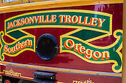 Jacksonville Trolley, Jacksonville, Oregon USA