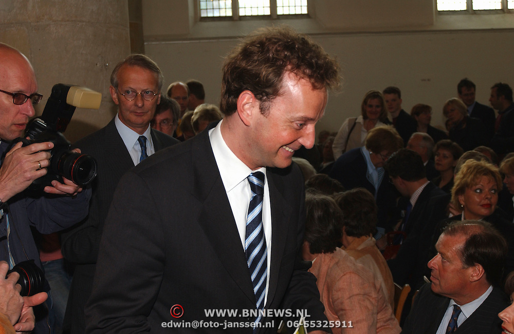Matthaus Passion 2003, Joop Wijn en vriend Patrick Mikkelsen