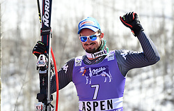 16.03.2017, Aspen, USA, FIS Weltcup Ski Alpin, Finale 2017, SuperG, Herren, Siegerehrung, im Bild Dominik Paris (ITA) // Dominik Paris of Italy during the winner award ceremony for the men's Super-G of 2017 FIS ski alpine world cup finals. Aspen, United Staates on 2017/03/16. EXPA Pictures © 2017, PhotoCredit: EXPA/ Erich Spiess