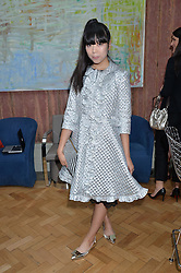 SUSIE LAU at a cocktail reception to celebrate the launch of the Bicester Village the British Designer's Collective 2014 held at the The Keeper's House, Royal Academy of Art, Piccadilly, London on 20th May 2014.