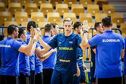 Miha Lapornik of Slovenia during friendly basketball match between Slovenia and Croatia , on September 8, 2018 in Arena Zlatorog, Celje, Slovenia. Photo by Ziga Zupan / Sportida