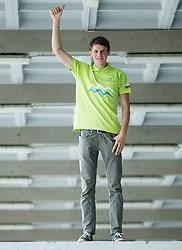 European Downhill Champion Jure Zabjek of Slovenia after UCI Mountain Bike European Championship in Wisla (POL), on September 16, 2015, in Tivoli, Ljubljana, Slovenia. Photo by Vid Ponikvar / Sportida