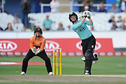 Sarah Taylor of Surrey Stars batting during the Women's Cricket Super League match between Southern Vipers and Surrey Stars at the 1st Central County Ground, Hove, United Kingdom on 14 August 2018.