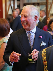 The Prince of Wales as he attends a dinner at Crawford Art Gallery as part of his tour of the Republic of Ireland with the Duchess of Cornwall. PRESS ASSOCIATION Photo. PRESS ASSOCIATION Photo. Picture date: Thursday June 14, 2018. See PA story ROYAL Charles. Photo credit should read: Brian Lawless/PA Wire