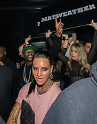 EXCLUSIVE<br /> Floyd Mayweather on his UK tour dancing with Jemma Lucy inside Playground nightclub in Liverpool.<br /> ©Peter Powell/Exclusivepix Media