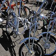Schwinn Stingrays at spring 2011 Bicycle Swap Meet, Tucson, Arizona. Bike-tography by Martha Retallick.