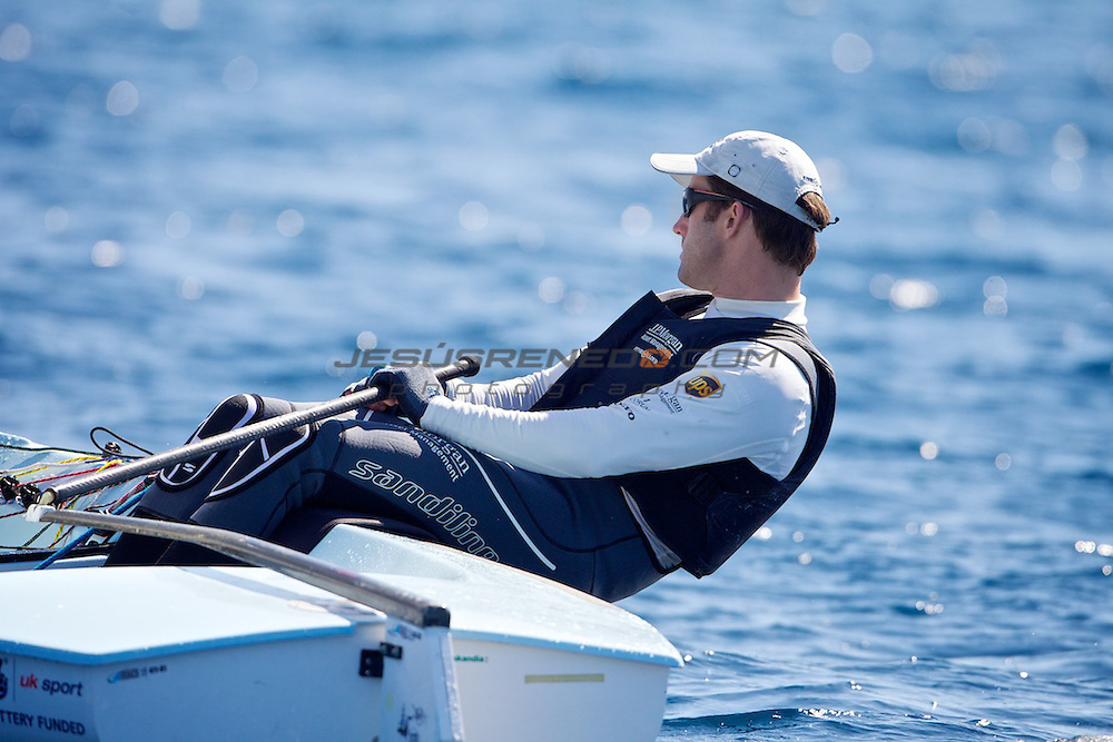 Ben Ainslie team training in Mallorca, March,15,2012.©jrenedo