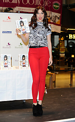 """Jessie J Book signing """"Nice To Meet You."""" at Bluewater Shopping Centre in Kent, Friday September 28, 2012. Photo By i-Images"""