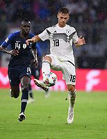 FUSSBALL UEFA Nations League in Muenchen Deutschland - Frankreich       06.09.2018 Joshua Kimmich (Deutschland) --- DFB regulations prohibit any use of photographs as image sequences and/or quasi-video. ---