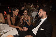 LAURA HARRIER, NAOMI SCOTT, CLAY THOMPSON, Bulgari Serpenti Seduttori dinner, Roundhouse. London. 15 September 2019