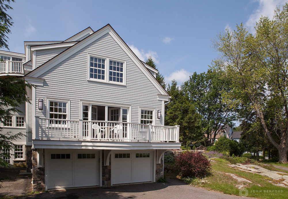 Exterior, New Castle, NH<br /> Architect: DeStefano Architects