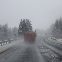 Wintry Weather on the A9 in Perthshire…07.02.17<br />