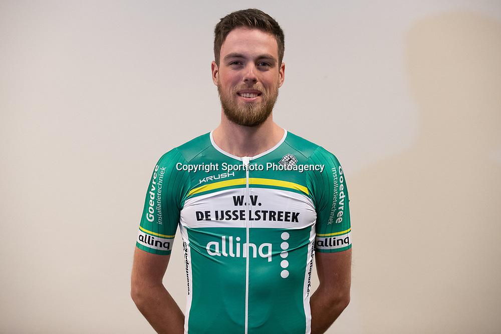 25-02-2020: Wielrennen: Teampresentatie IJsselstreek; Harderwijk <br /> Daan de Jong