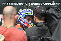 June 17, 2018 - Ottobiano, Lombardia, Italy - Antonio Cairoli of Red Bull KTM Factory Racing team after the victory at Fiat Professional MXGP of Lombardia race at Ottobiano Motorsport circuit on June 17, 2018 in Ottobiano (PV), Italy. (Credit Image: © Massimiliano Ferraro/NurPhoto via ZUMA Press)