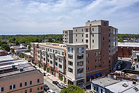 Aerial photo of One Ardmore Place Apts in PA by Jeffrey Sauers of CPI Productions