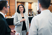 Infosec participates in The CyberSecure My Business program at Gordon Commons in Madison, Wisconsin, Tuesday, Sept. 24, 2019.