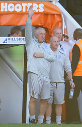 NOTTINGHAM, ENGLAND - Saturday, October 6, 2012: Tranmere Rovers' manager Ronnie Moore during the Football League One match against Tranmere Rovers at Meadow Lane. (Pic by David Rawcliffe/Propaganda)