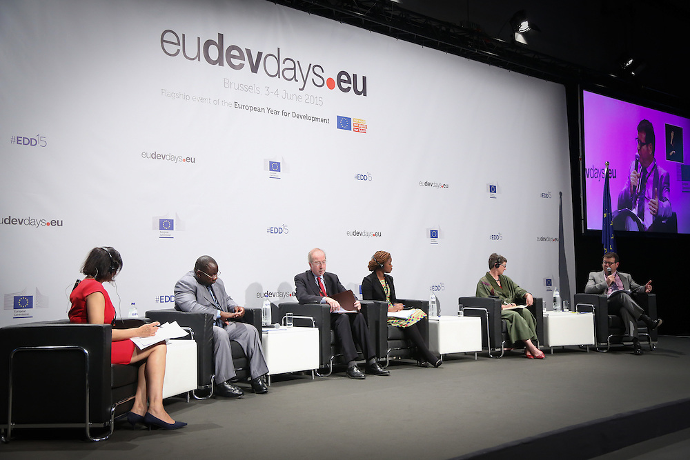 03 June 2015 - Belgium - Brussels - European Development Days - EDD - Food - Feeding the planet together © European Union