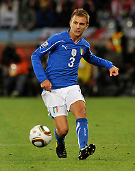 Football - soccer: FIFA World Cup South Africa 2010, Italy (ITA) - Paraguay (PRY), DOMENICO CRISCITO