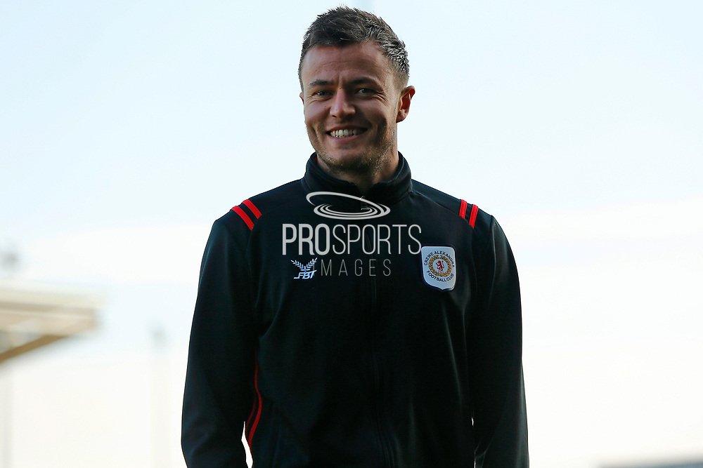 Dave Richards arrives for the EFL Sky Bet League 2 match between Northampton Town and Crewe Alexandra at the PTS Academy Stadium, Northampton, England on 16 November 2019.