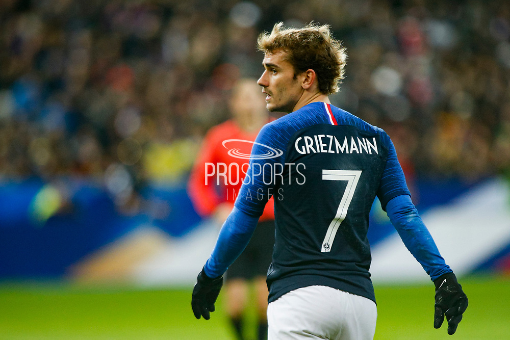 France's Antoine Griezmann during the International Friendly Game football match between France and Colombia on march 23, 2018 at Stade de France in Saint-Denis, France - Photo Geoffroy Van Der Hasselt / ProSportsImages / DPPI during the International Friendly Game football match between France and Colombia on march 23, 2018 at Stade de France in Saint-Denis, France - Photo Geoffroy Van Der Hasselt / ProSportsImages / DPPI