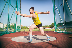 Hana Urankar competes during day 1 of Slovenian Athletics Cup 2019, on June 15, 2019 in Celje, Slovenia. Photo by Peter Kastelic / Sportida