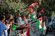 Roma 10 Novembre 2012.Manifestazione  davanti all'Ambasciata del Marocco ,per la libertà dei prigionieri saharawi detenuti da due anni senza processo dopo che sono stati arrestati  dopo lo smantellamento dell'Accampamento della dignità..Demonstration for the freedom of the Sahrawi prisoners