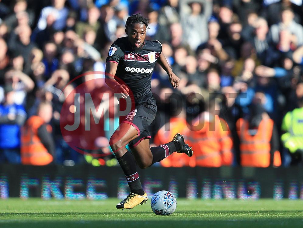 Joshua Onomah of Aston Villa - Mandatory by-line: Paul Roberts/JMP - 29/10/2017 - FOOTBALL - St Andrew's Stadium - Birmingham, England - Birmingham City v Aston Villa - Skybet Championship