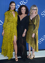 Irina Shayk, Diane von Furstenberg, and Delaney Tarr at the 2018 CFDA Awards at the Brooklyn Museum in New York City, NY, USA on June 4, 2018. Photo by Dennis Van Tine/ABACAPRESS.COM