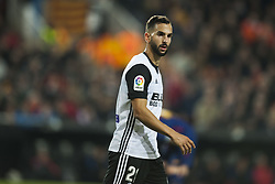 November 26, 2017 - Valencia, Valencia, Spain - Martin Montoya during the match between Valencia CF vs. FC Barcelona, week 13 of La Liga at Mestalla Stadium, Valencia, SPAIN on 26th November 2017. (Credit Image: © Jose Breton/NurPhoto via ZUMA Press)