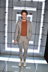 James Stewart at the official launch of The Perception at W London, 10 Wardour Street, London England. 7 November 2017.<br /> Photo by Dominic O'Neill/SilverHub 0203 174 1069 sales@silverhubmedia.com