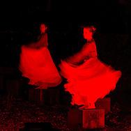 Nederland, Den Bosch, 20151107.<br /> Zielen in Gedachten op begraafplaats Orthen in Den Bosch. Dans en ballet bij het Ossuarium<br /> Zielen in Gedachten is een jaarlijkse herdenkingsbijeenkomst voor iedereen die hun overledenen in een sfeervolle, ingetogen omgeving wil gedenken. Een sfeervol uitgelichte route voert langs muziek, rituelen, beelden, verhalen en po&euml;zie op begraafplaats Orthen<br /> <br /> Netherlands, Den Bosch, 20151107.<br /> Souls in Thoughts on cemetery Orthen in Den Bosch. <br /> Souls in Thoughts is an annual commemoration for all who want to remember their dead in a stylish, understated surroundings . An atmospheric highlighted route goes past music, rituals, images, stories and poetry on cemetery Orthen