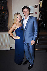 TV presenter NICK KNOWLES and JESSICA MORRIS at the Inspiration Awards For Women held at Cadogan Hall, Sloane Terrace, London on 6th October 2010.