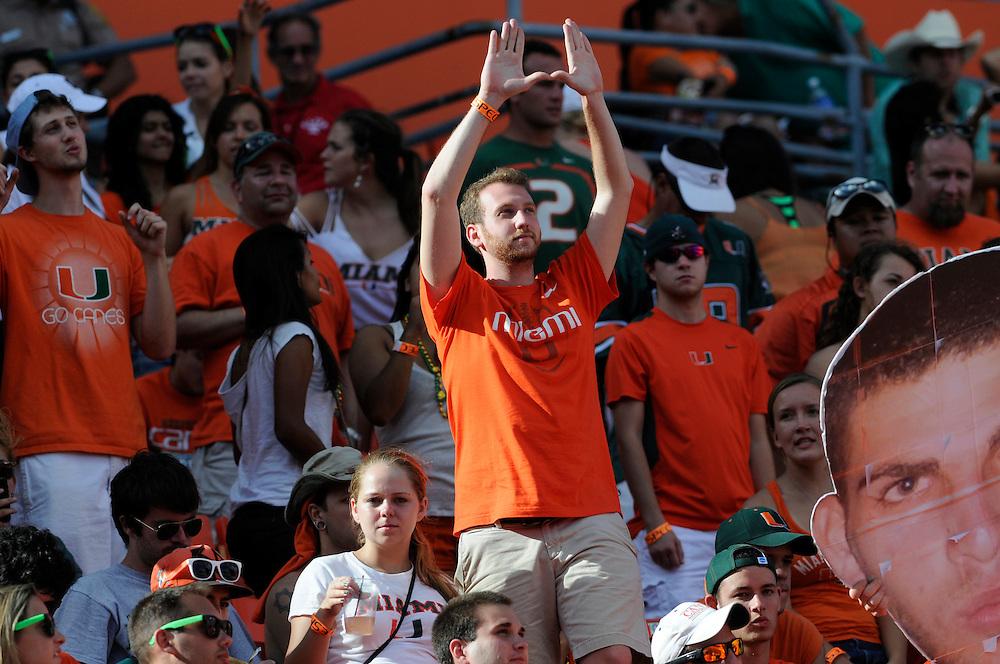2012 Miami Hurricanes Football vs North Carolina
