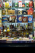 Gifts and souvenirs shop in Santiago de Compostela, Galicia, Spain