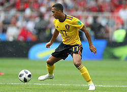 June 23, 2018 - Moscou, Rússia - MOSCOU, MO - 23.06.2018: BÉLGICA Y TÚNEZ - Youri TIELEMANS from Belgium during the match between Belgium and Tunisia valid for the 2018 World Cup held at the Otkrytie Arena (Spartak) in Moscow, Russia. (Credit Image: © Rodolfo Buhrer/Fotoarena via ZUMA Press)