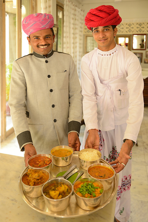 The Rawla Narlai Heritage resort,Narlai,Rajasthan,India,Asia<br /> Model release 0323, 0324