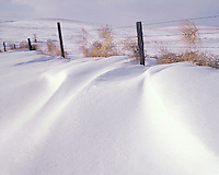 AA00877-02...NORTH DAKOTA - Fence in the Little Missouri National Grasslands.
