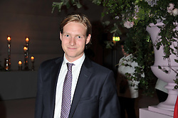 SAM SANGSTER at a dinner hosted by Cartier following the following the opening of the Chelsea Flower Show 2012 held at Battersea Power Station, London on 21st May 2012.