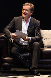 © Licensed to London News Pictures. 19/06/2016. PIERS MORGAN takes part in An Audience With Charlie Sheen giving a rare insight into his career and private life.  London, UK. Photo credit: Ray Tang/LNP