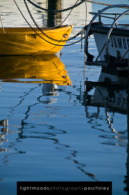 Reflections on Lake Macquarie, NSW, Australia