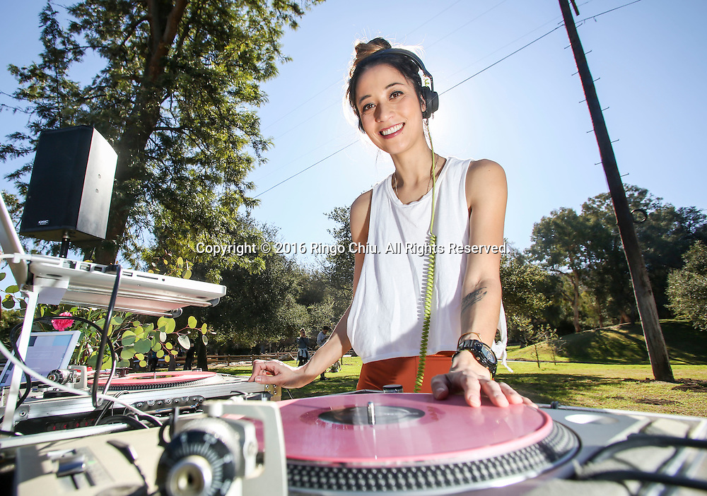 Tessa Young has started an all women boutique DJ agency.<br /> (Photo by Ringo Chiu/PHOTOFORMULA.com)<br /> <br /> Usage Notes: This content is intended for editorial use only. For other uses, additional clearances may be required.