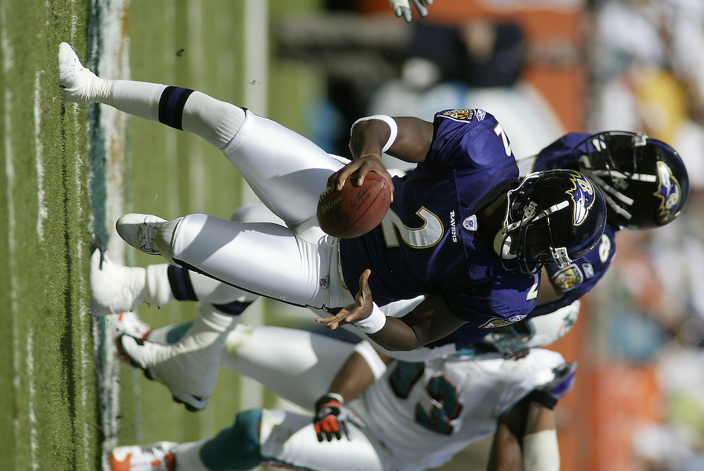 2003 NFL Week 11 Baltimore Ravens @ Miami Dolphins