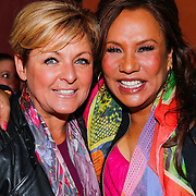 NLD/Amsterdam/20130325 - High Fashion Tea Jos Raak 2013, Caroline Tensen en Patty Brard