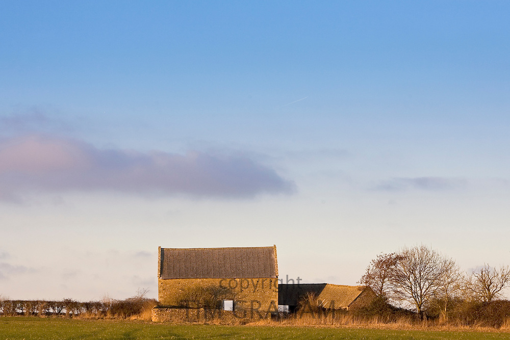 Derelict barn, Oxfordshire, United Kingdom