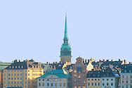 The Stockholm skyline