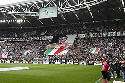 May 19, 2018 - Turin, Italy - Juventus supporters during the Serie A football match n.38 JUVENTUS - VERONA on 19/05/2018 at the Allianz Stadium in Turin, Italy. (Credit Image: © Matteo Bottanelli/NurPhoto via ZUMA Press)