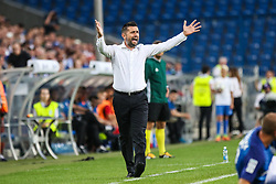 "August 3, 2017 - Poznan, Poland - Coach Nenad Bjelica (Lech) during the UEFA Europa League Third Qualifying Round Second Leg match between Lech PoznaÅ"" and FC Utrecht at Stadio Miejski, on August 3, 2017 in PoznaÅ"", Poland. (Credit Image: © Foto Olimpik/NurPhoto via ZUMA Press)"