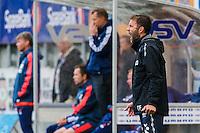 Eliteserien fotball 2015: Aalesund - Vålerenga. Aalesunds trener Trond Fredriksen i eliteseriekampen mellom Aalesund og Vålerenga på Color Line Stadion.