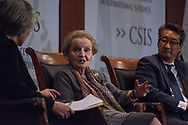 9/26/2017; Madeline Albright spoke at CSIS in Washington, DC
